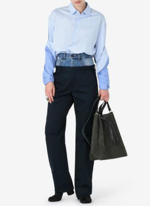 El raro diseño de pantalones que usan en Nueva York