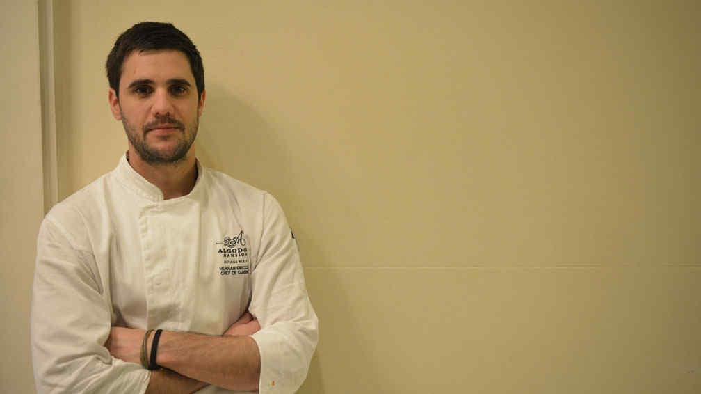 Entrevista con el chef hern n griccini mi generaci n mira - Chef titanium con voz ...