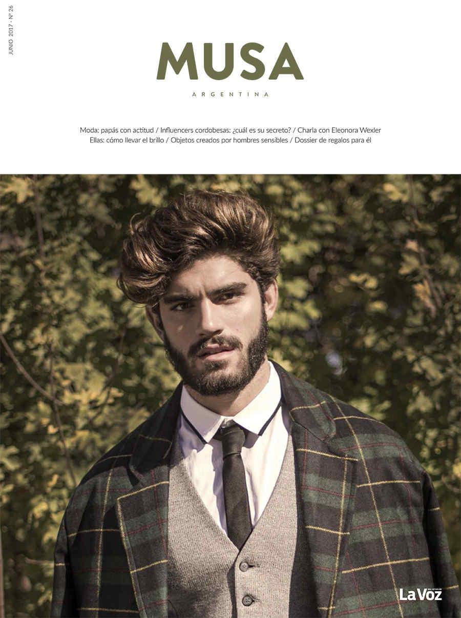Revista Musa de junio: varones con actitud
