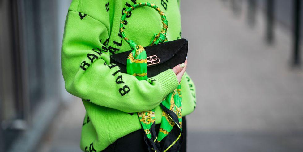 Famosas usando verde lima.