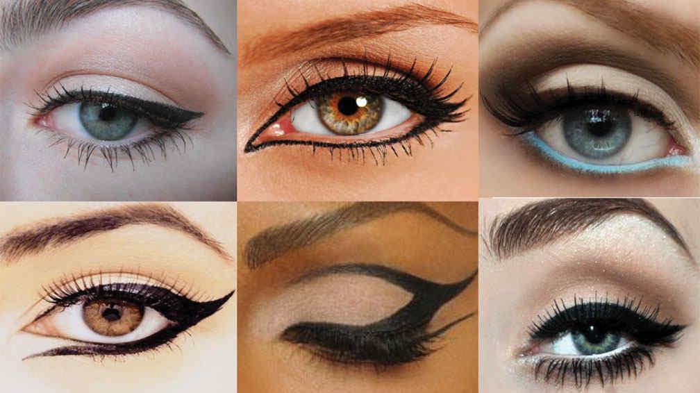 10 maneras f ciles y originales para delinear tus ojos en for Distintas formas de maquillarse los ojos