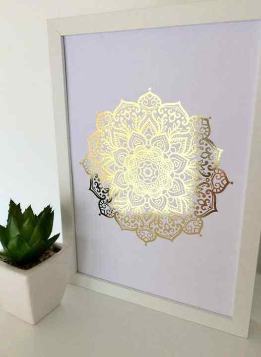 Ideas para decorar con mandalas musa - Wandtattoo orientalisch ...