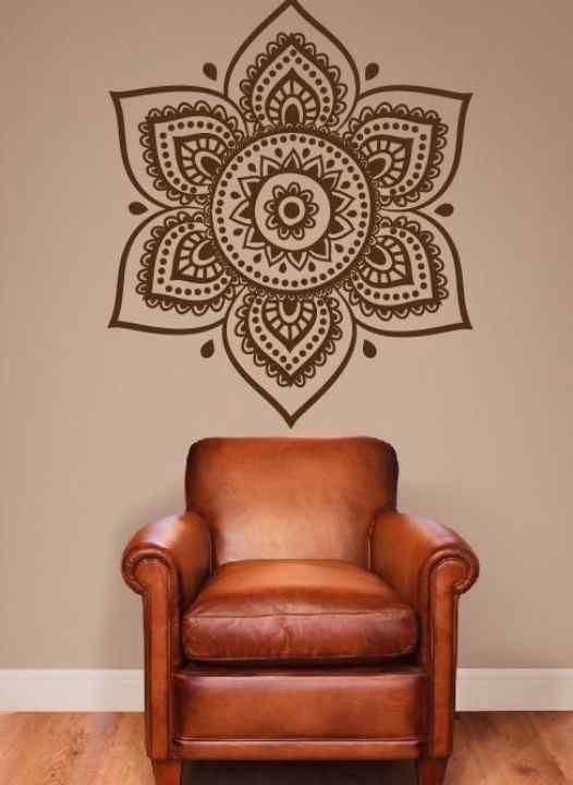 Ideas para decorar con mandalas musa for Idea interior muebles