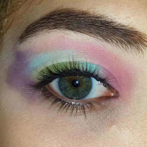 ¡Como una obra de arte! Probá este makeup de ojos esta temporada