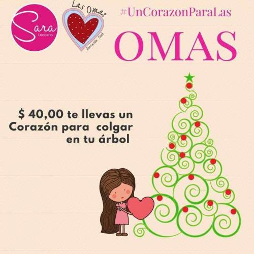 Comprá un corazón para tu árbol, y ayudá a mujeres en riesgo