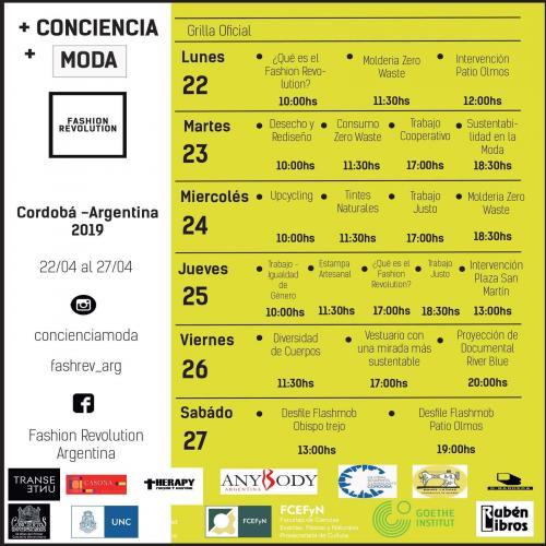 Comenzó la semana de la Fashion Revolution Argentina, con la conciencia como norte