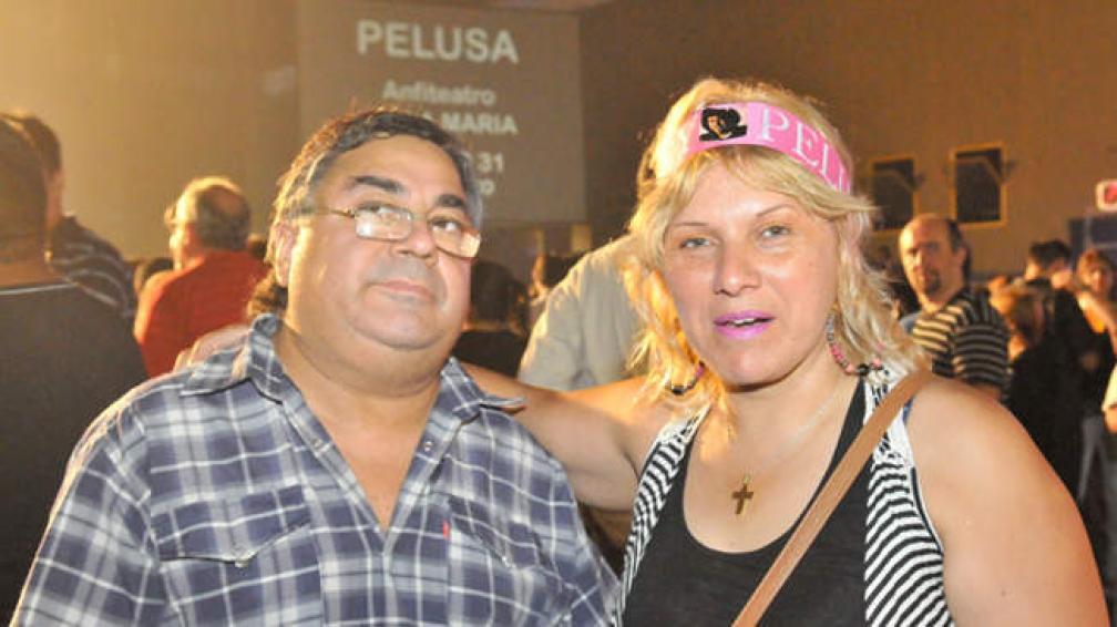 Hugo y Sandra, de barrio Mafekin (foto: Sergio Ortega).