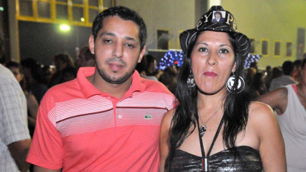 Sebastián y Roxana no quisieron perderse el regreso (foto: Sergio Ortega).