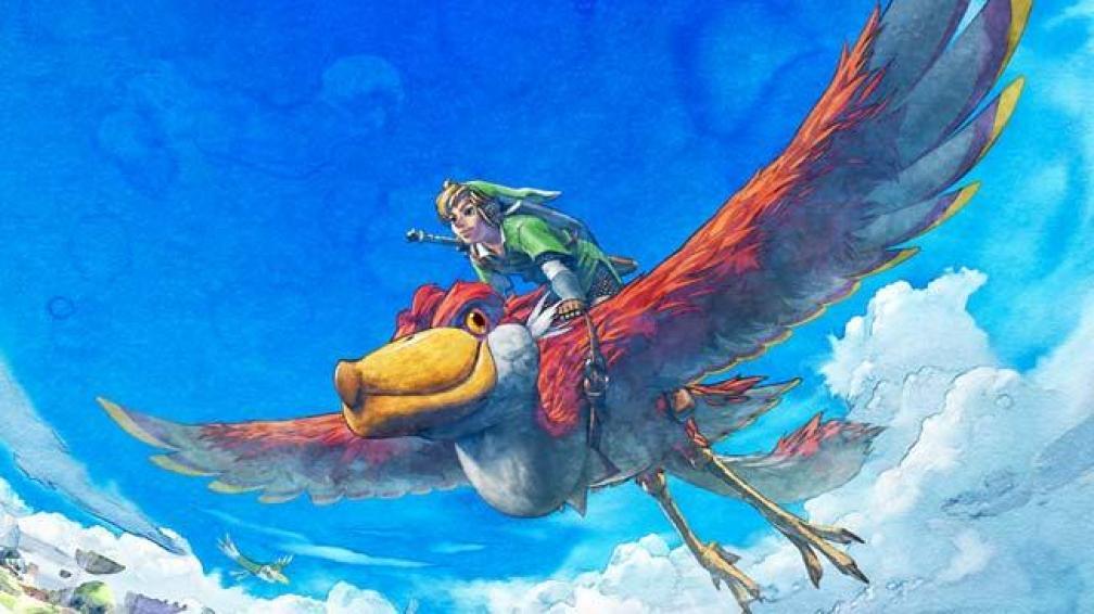Skyward Sword, última entrega de la saga Zelda.