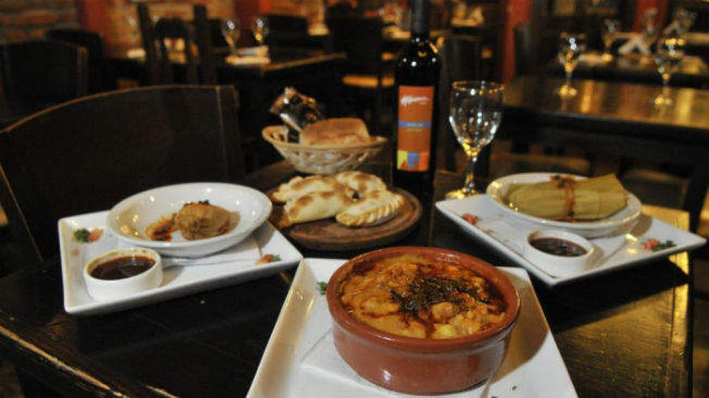El locro es uno de los platos clásicos de Alfonsina.