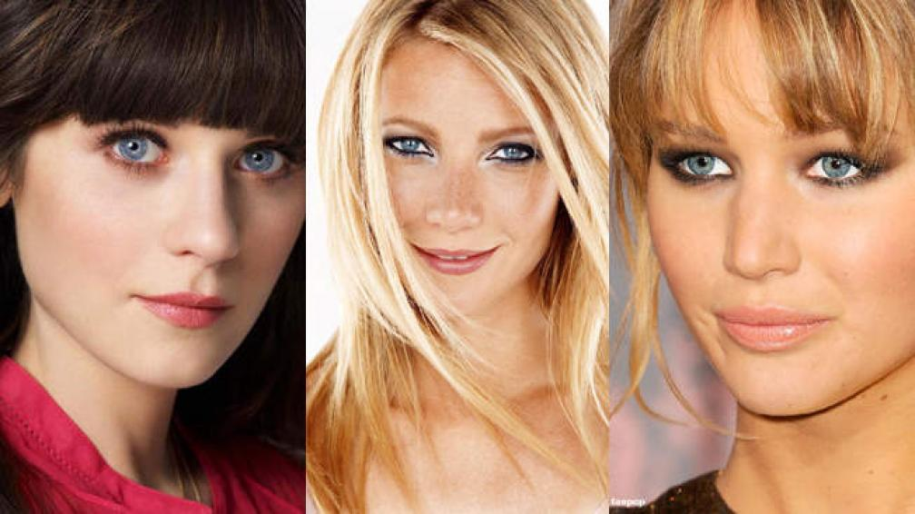 Zooey Deschanel, Gwyneth Paltrow y Jennifer Lawrence, entre las mujeres más bellas del mundo.