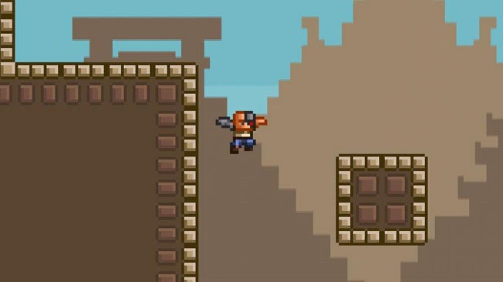 """LEAGUE OF EVIL. Un juego de plataformas que nos recuerda a glorias de los 8-bit como """"Mega-Man""""."""