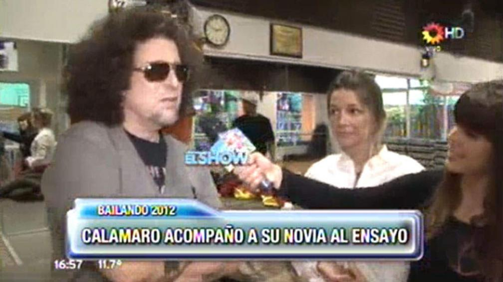 Andrés Calamaro defendió la actuación de Micaela Breque en ShowMatch. (Captura web)
