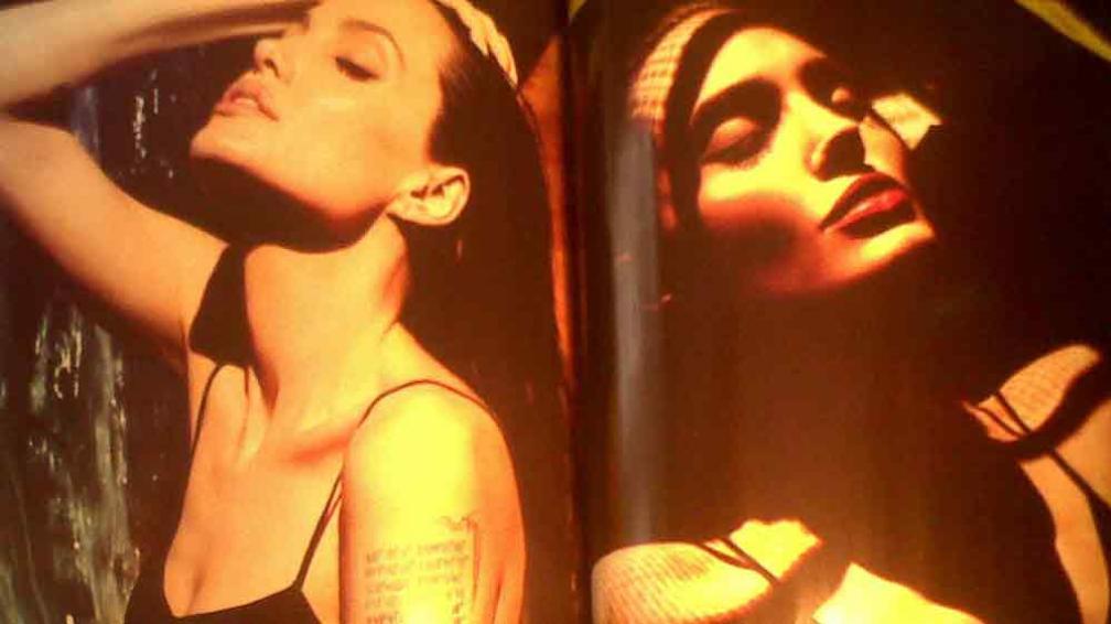 ANTECEDENTE. Jolie, en una sesión de fotos de 2011 para Mert & Marcus, dos de los mejores del mundo. También resaltan su rostro