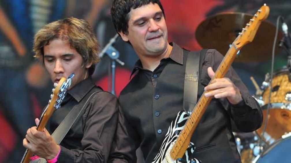 GARDELITOS. La banda de Buenos Aires edita su primer DVD en vivo.