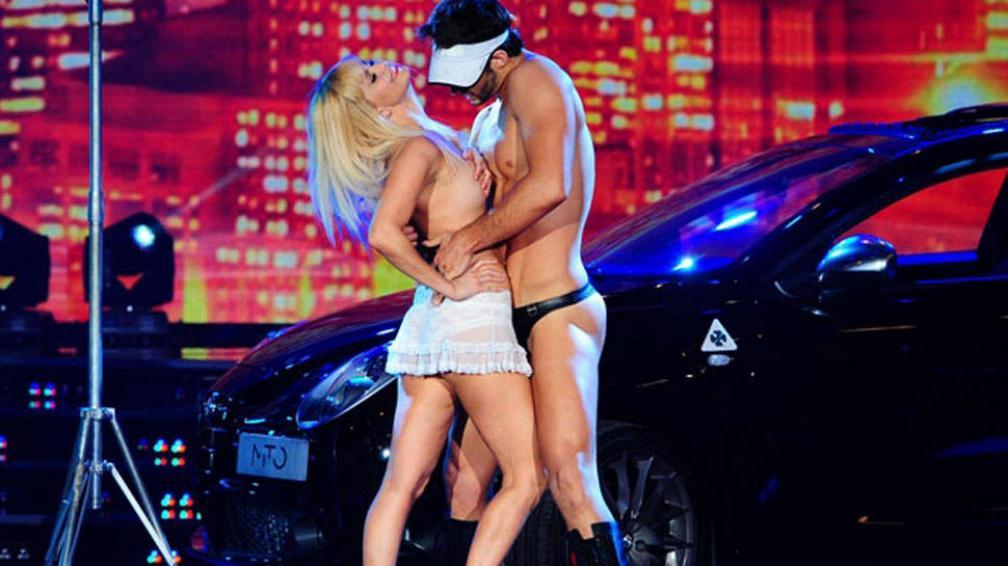Con topless y todo, Grecia Colmenares no convenció al jurado.