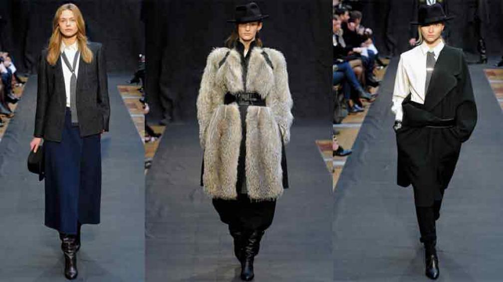 HUELLA ARGENTINA. Faldas hasta abajo de las rodillas, abrigos de piel, corbatas de lana y hasta sombreros