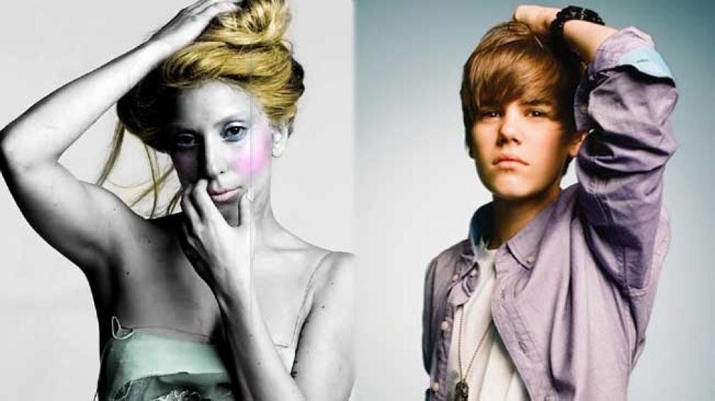 LOS DOS AL GUINESS. Gaga y Justin, récords.