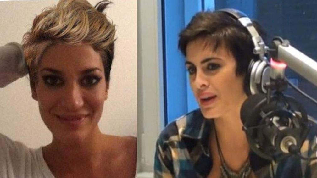 """Silvina Escudero y Silvina Luna. Las """"Silvinas"""" pelicortas. Una de ellas lo hizo en serio, la otra no."""
