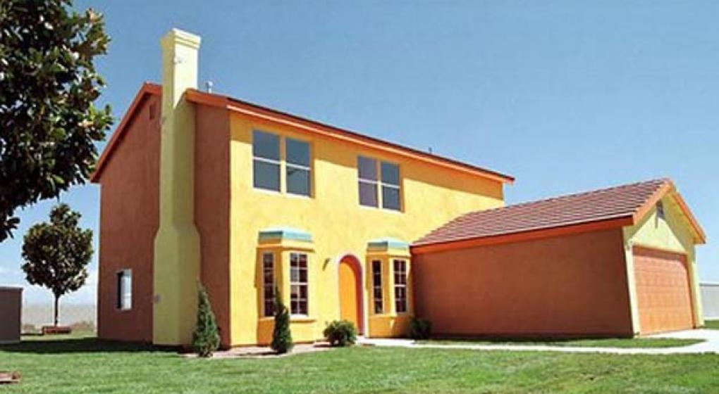 La casa de los simpson a la venta el sitio de for Casa amarilla musica