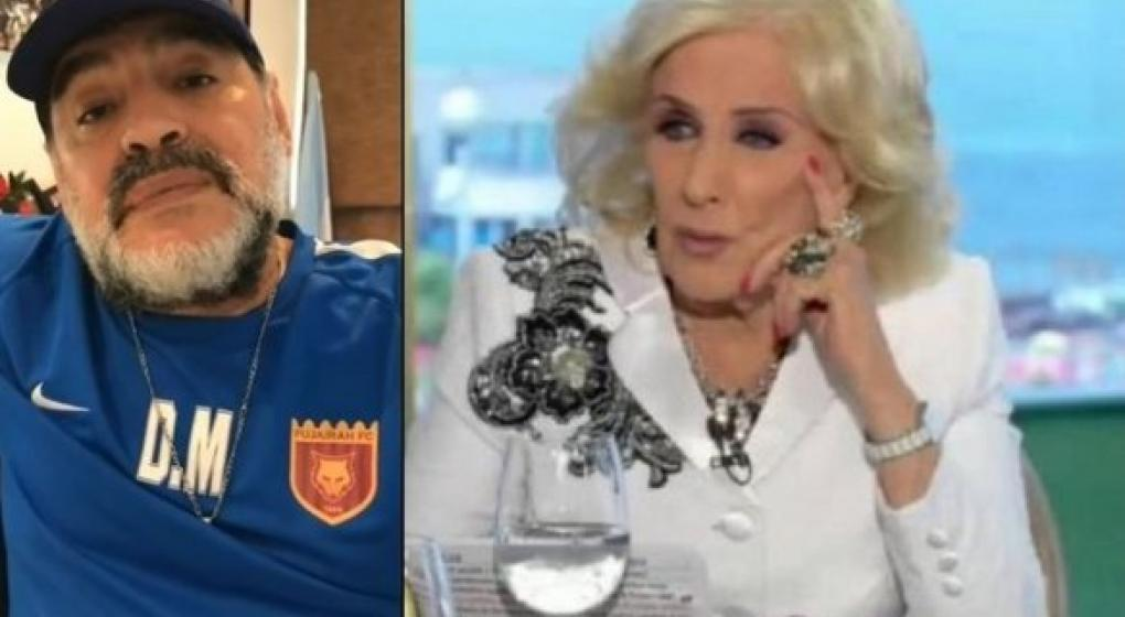 Mirtha Legrand demandará a Diego Maradona — Contraataque feroz