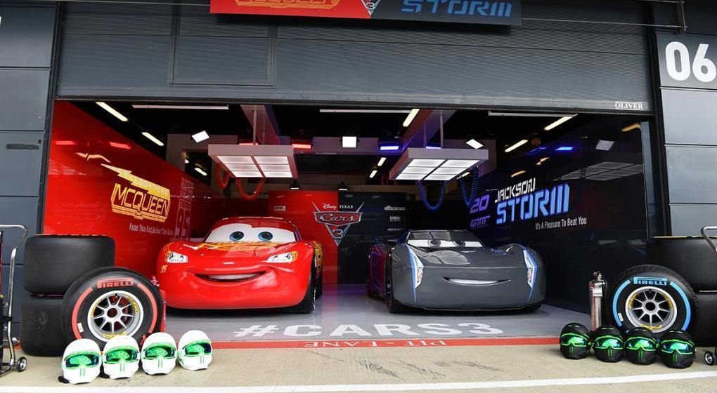 Disney Cars Garage Uk