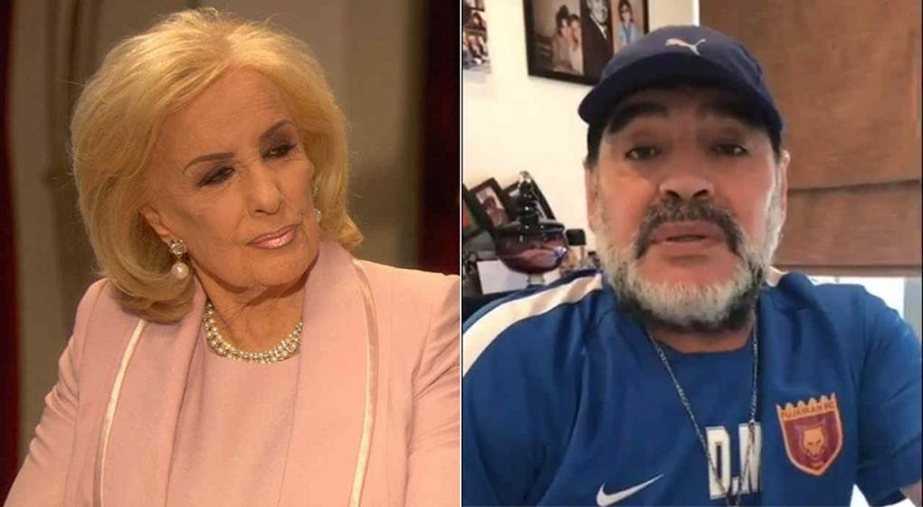 Diego Maradona llegó a Instagram y la ligó Icardi