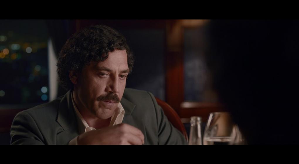 Javier Barden se deja ver como Pablo Escobar