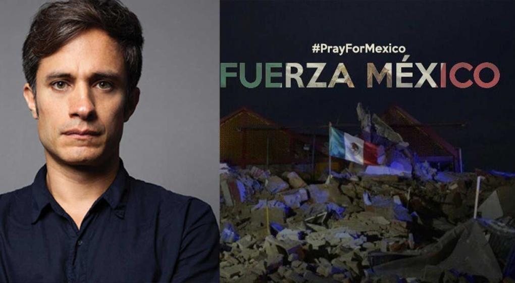 Gael García vivió angustia por paradero de su papá tras terremoto