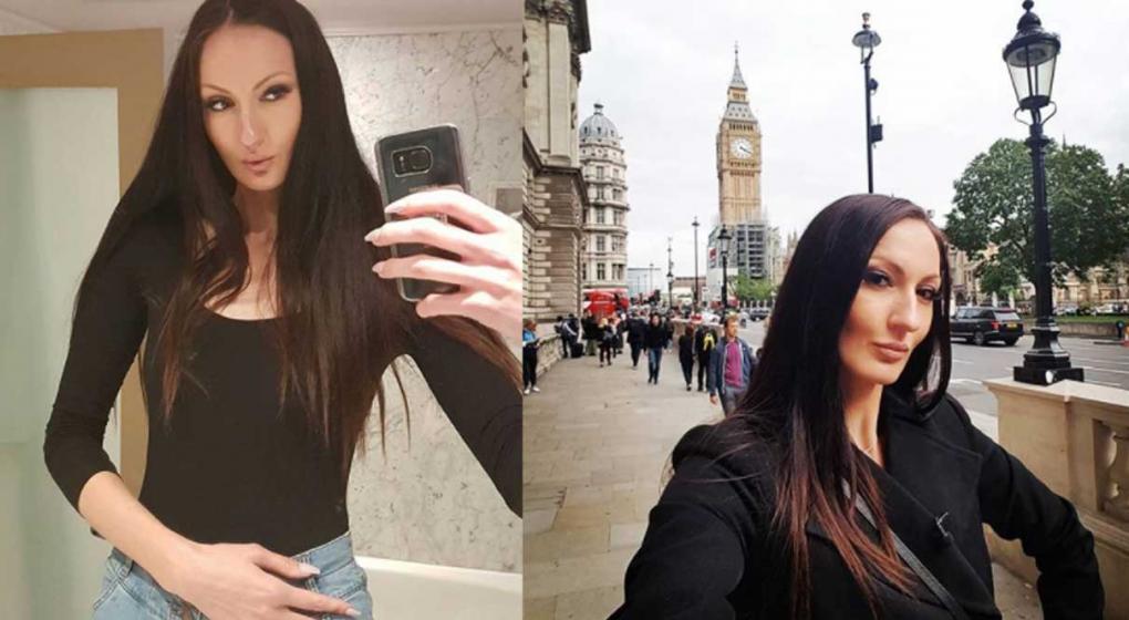 Ekaterina Lisina marcó el récord como la modelo más alta del mundo