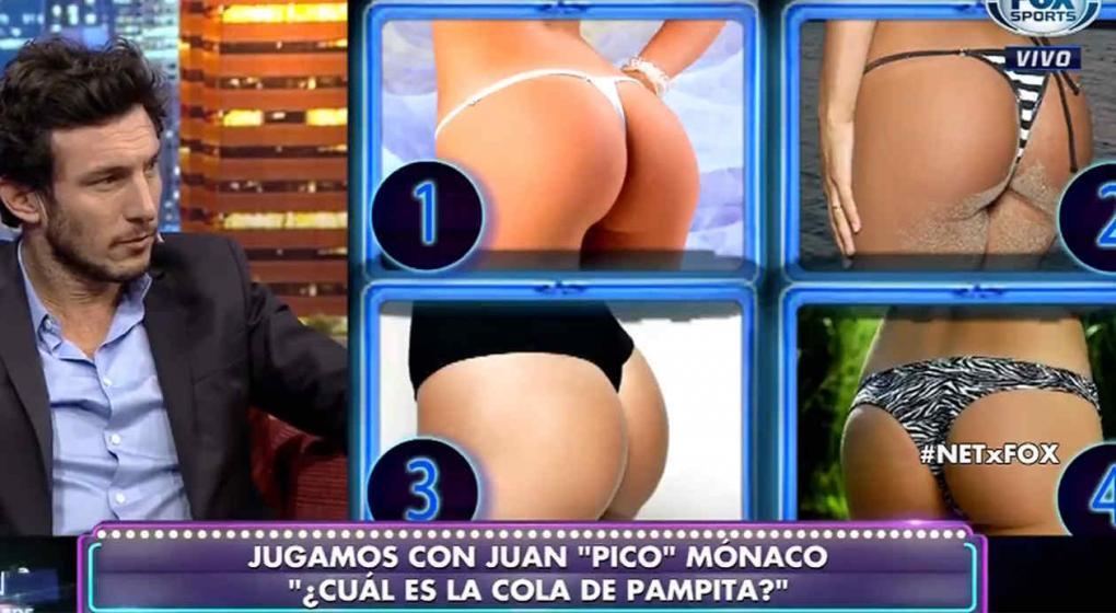 Pico tuvo que adivinar qué cola era de Pampita: