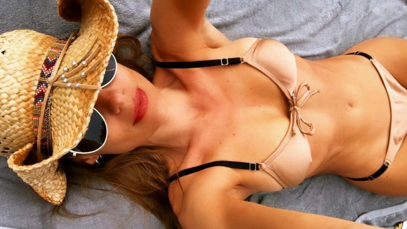 2019 profesional realmente cómodo cupón de descuento Adelanto de verano: Pampita mostró su