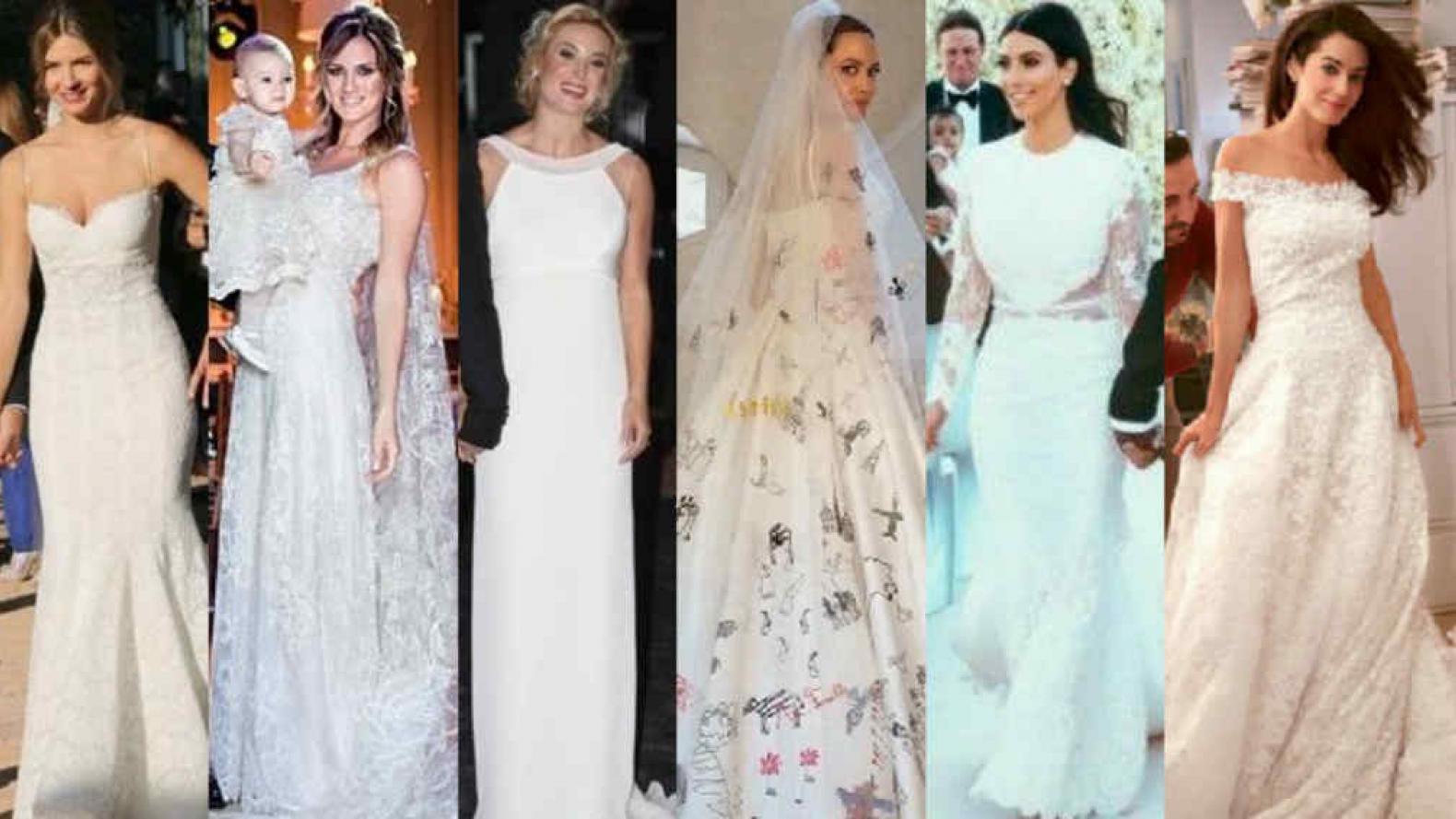 5b186b4fc Los mejores vestidos de novia de las famosas