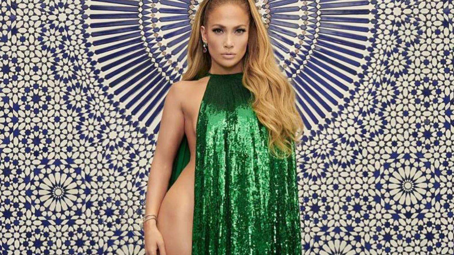 La Verdad Sobre El Vestido Que Usó Jennifer López Y Se Hizo