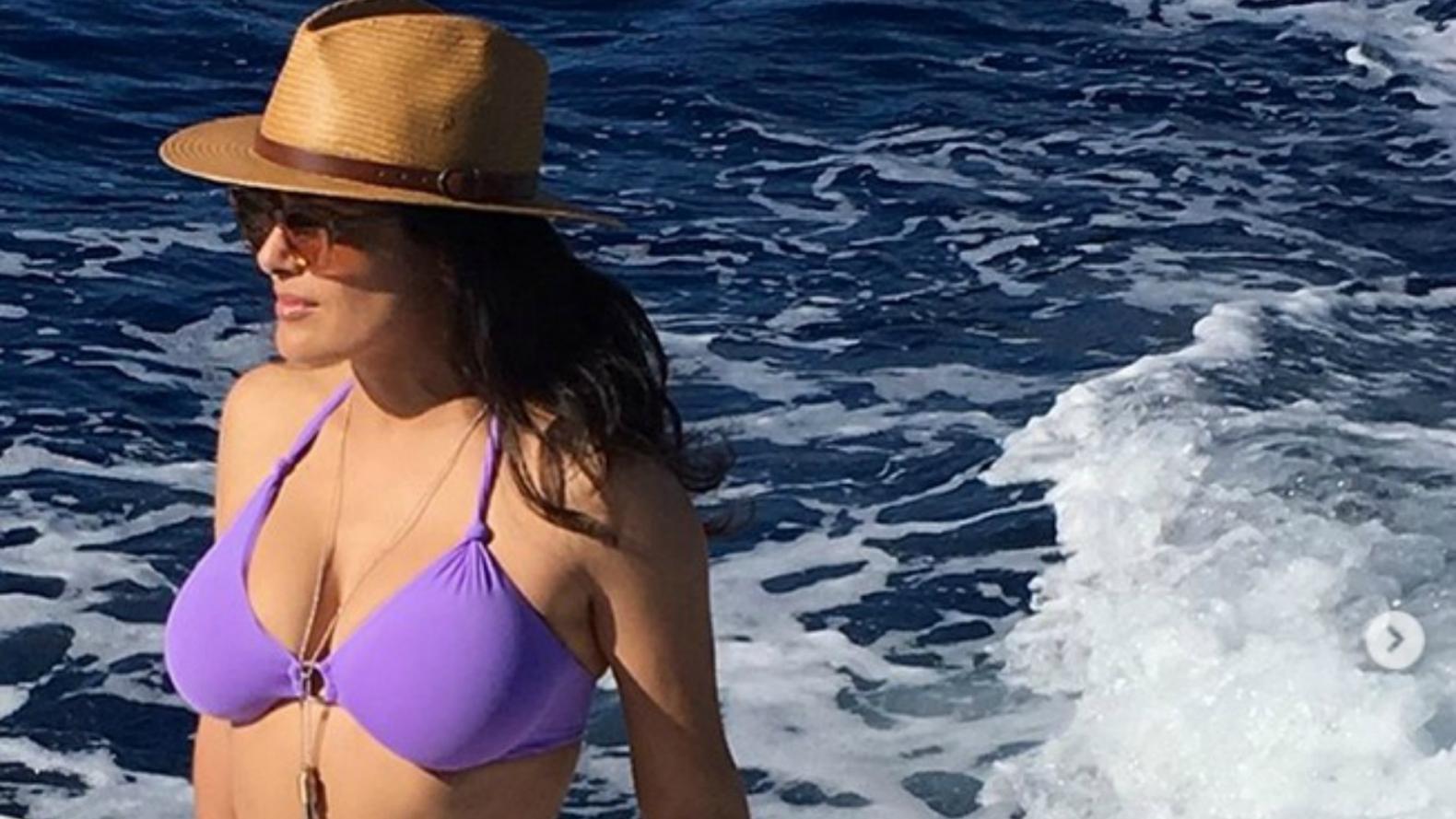 Salma Hayek formará parte de las presentadoras en los Globos de Oro