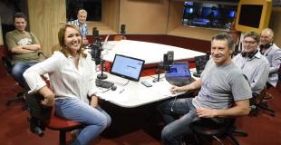 Así se prepara Rebeca Bortoletto para volver a los medios: primer ensayo de radio y tele