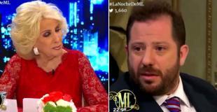 """Mirtha Legrand, durísima con José Ottavis: """"Es un papelón"""""""