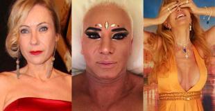 El destape de los famosos: el desnudo de Alfano y Flavio Mendoza y la microbikini de Inés Estévez
