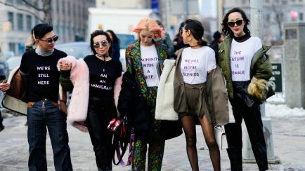 New York Fashion Week: la moda feminista y anti Trump