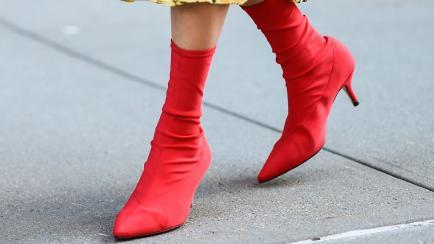 Las raras botas que todas quieren y parecen calcetines