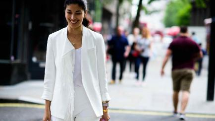 "¡Puro blanco! Looks ""total white"" para lucir esta temporada"