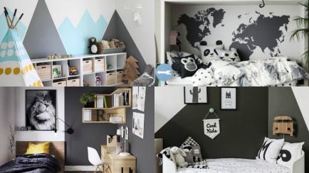 A prueba de manchas: inspiraciones para decorar el cuarto de los más chicos en tonos grises