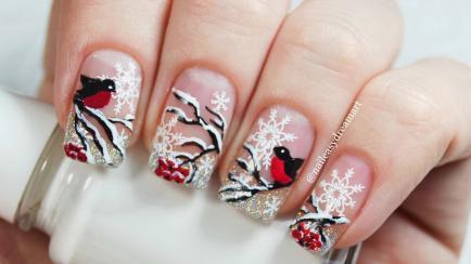 Nail art de invierno: diseños para inspirarse