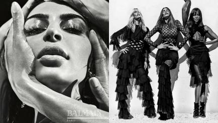 Campañas impactantes: Kardashian llorando y Schiffer-Campbell-Crawford juntas