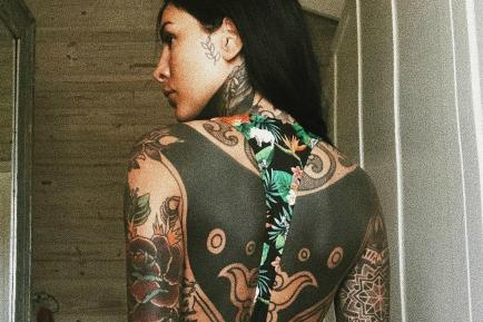 Sexy y confesional: Cande Tinelli publicó una foto con una reflexión sobre su cuerpo