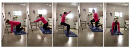 ¿Te duele la espalda o el cuello? Una profe te enseña ejercicios para hacer en casa