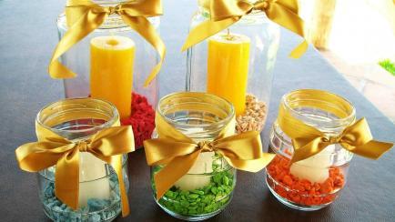En modo Navidad: cómo decorar con elementos reutilizables