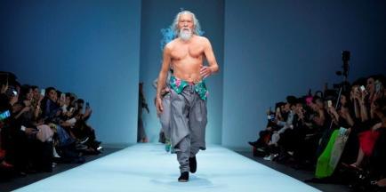 Empezó a modelar a los 79 años y es una sensación mundial