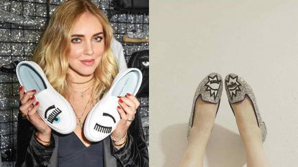 Ojos en los pies: conocé la colección de zapatos de la it girl Chiara Ferragni