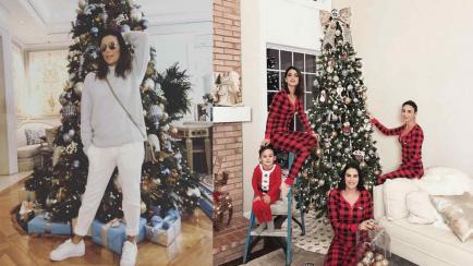 Celebridades de la moda que se adelantan a la Navidad